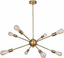 CEXTT Industrie-Retro-Stil vergoldeter Bronze