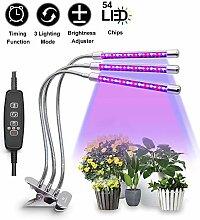 CFGROW Pflanzenlampe mit Zeitfunktion,
