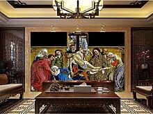 CFLEGEND 3D Wandgemälde Religiöse Figuren, (W)