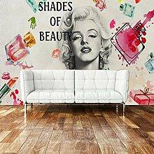 CFLEGEND Nail Salon Tapete Marilyn Monroe 3D