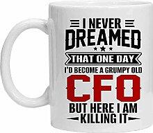 CFO Tasse – Grumpy Old CFO – Lustige