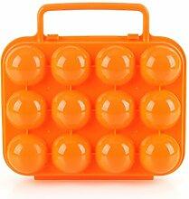 CFtrum Eier Aufbewahrungsbox Eierbehälter