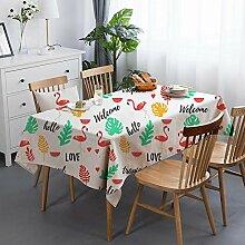 CFWL Baumwollleinen Tischdecke Esstischdecke