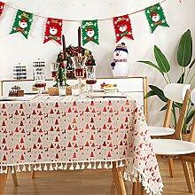 CFWL Feiertagsfeier Wohnzimmer Party Tischdecke