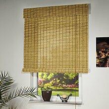 CG-Sonnenschutz Holzrollo natur oder braun in