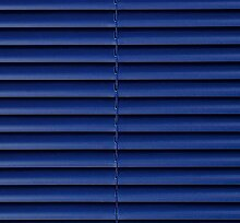CG-Sonnenschutz PVC-Jalousie blau (120 x 220 cm)