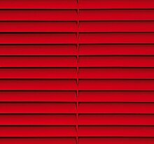 CG-Sonnenschutz PVC-Jalousie rot (90 x 160 cm)