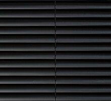CG-Sonnenschutz PVC-Jalousie schwarz (100 x 160 cm)