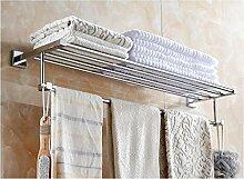 CH Alle kundenspezifische Länge Kupfer verlängert Bad Handtuchhalter Handtuchhalter Badezimmerregal Badezimmerzubehör Badezimmer Handtuchhalter ( größe : 100cm )