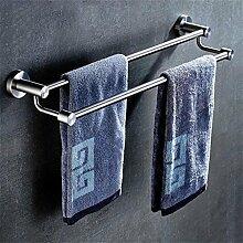 CH Badezimmer Handtuchhalter, Edelstahl Handtuchhalter, Badezimmerzubehör Handtuchhalter Badezimmer Handtuchhalter