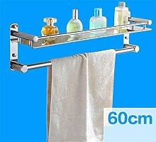 CH Edelstahl-Badezimmer-Regal, Badezimmer Handtuchwärmer, Badezimmer Storage Rack Badezimmer Handtuchhalter ( farbe : 3# )