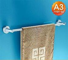 CH Raum Aluminium Handtuchhalter einzige Stange verlängert Bad Handtuchhalter Bad Handtuchhalter Bad Anhänger Stangen hängen Badezimmer Handtuchhalter ( farbe : A3 )