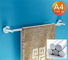 CH Raum Aluminium Handtuchhalter einzige Stange verlängert Bad Handtuchhalter Bad Handtuchhalter Bad Anhänger Stangen hängen Badezimmer Handtuchhalter ( farbe : 4# )