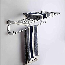 CH Vollkupfer doppelt gefaltet Handtuchhalter Handtuchhalter Bad-Accessoires Bad Handtuchhalter verlängert Aktivitäten Badezimmer Handtuchhalter ( größe : 60 )