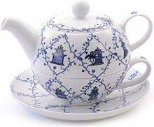 Cha Cult Tea for One Set Lanyu Porzellan, 4-teilig