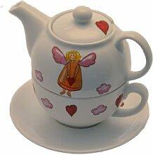 Cha Cult Tea for one Set Schutzengel