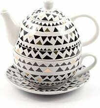 Cha Cult Tea for one Set Selina Porzellan mit