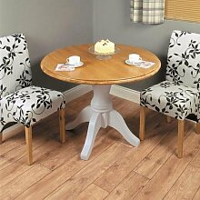 Chadwick Round Dining Table - Baumhaus