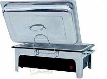 Chafing Dish, komplett mit Elektro-Kunststoff-Wasserbad und GN 100 mm