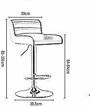 CHAIRS Stühle Moderne Möbel Bar Luxus Pu Mode
