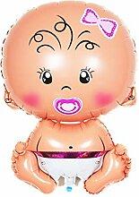 Chakil 1 Stück Luftballon 1 Jahr Geburtstag