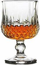Champagnerbecher Cocktailglas Whiskeybecher