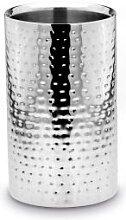 Champagnerkühler, Edelstahl, H 20 cm, Ø 13 cm