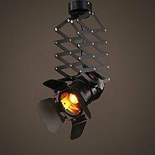 Chandelier-S SZQ Loft Track Beleuchtung, Industrie