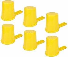 Changor 6 Stck Biene Futtermittel, Kunststoff