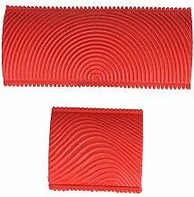 Changor Malwerkzeug mit rotem Holzkorn,