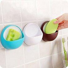 changshuo Küchenregal Kunststoff Saugnapf Seife