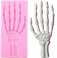 CHAOCHAO Halloween Hand Knochenform Rand