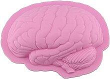 CHAOCHAO Halloween Human Brain Form Kuchenform Pan