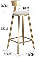CHAOYANG Barhocker, Nordic minimalistischen Gold