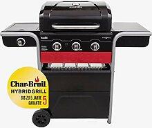 Char-Broil Gas2Coal® 330 Hybrid Grill - 3 Brenner