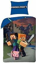 Character World 'Minecraft Bettwäsche Kinder