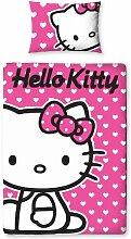 Character World Hello Kitty Mädchen Bettwäsche