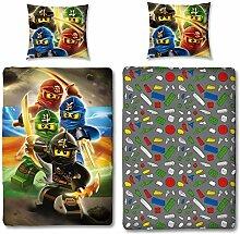 Character World Kinder Bettwäsche Set Lego