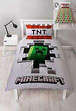 Character World Minecraft Dynamite Bettwäsche-Set