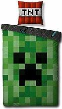 Character World Wende Bettwäsche Set Minecraft,