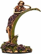 Charakter Weinregal Ornamente Lila Harz Skulptur
