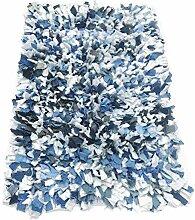 Chardin Home Denim-Teppich, 51 x 76 cm,