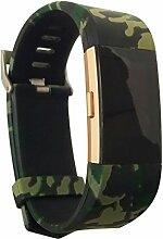 Charge 2 Armband, BarRan® Silikon Sportarmband