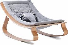 Charlie Crane Levo Sweet Grey Babywippe aus Holz
