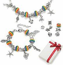 Charm Armband DIY Kit Geschenk für Teenager