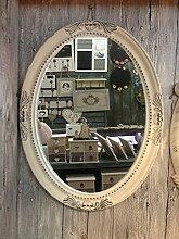 Charmanter Landhaus Holz Wandspiegel 18-1 Spiegel