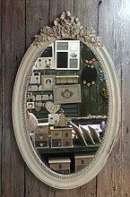 Charmanter Landhaus Holz Wandspiegel 18-3 Spiegel