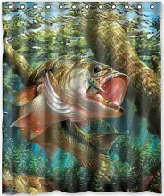 CHATAE Bass Fisch Springen Haken Beliebtes Bad