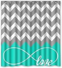 CHATAE Love Infinity Forever Love Symbol Chevron
