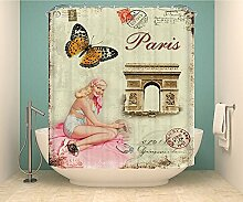 CHATAE Vintage Muster French Triumphal Arch und